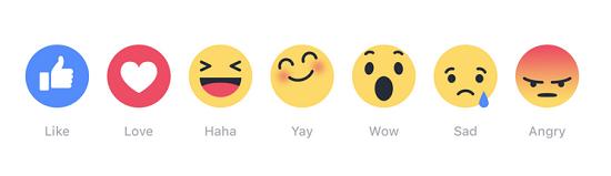 Facebook Le Bouton J Aime S Agremente De Six Emojis Zdnet