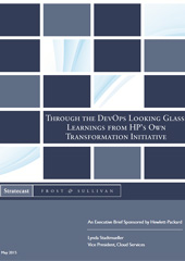 Through the DevOps looking glass : learnings from HP's own transformation initiative