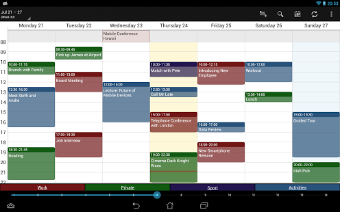 Calendrier Outlook Sur Android.5 Applications Pour Synchroniser Ses Agendas Zdnet