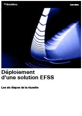 Déploiement d'une solution EFSS - Les six étapes de la réussite