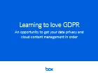 Apprendre à aimer le GDPR