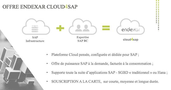 L'offre Cloud4SAP d'Endexar (Groupe Hisi)
