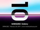 Le Samsung Galaxy S10 présenté le 20 Février, sa mission : sauver l'industrie des smartphones