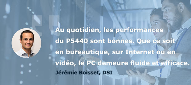 Avis Jérémie Testeurs Pros PC portable AsusPro P5440 - Les performances et l'autonomie