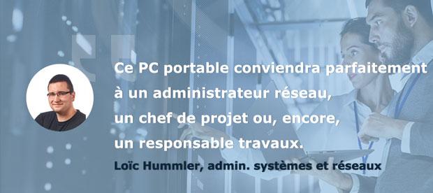 Avis Loïc Testeurs Pros PC portable AsusPro P5440 - Le performance et l'autonomie