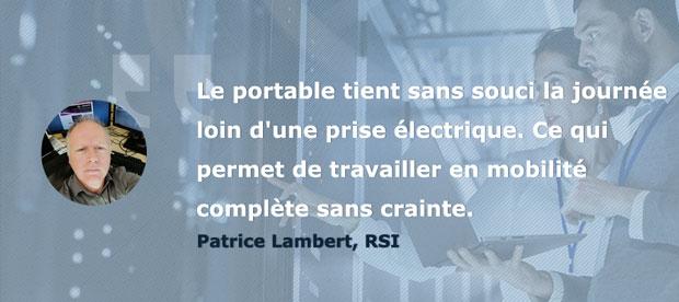 Avis Patrice Testeurs Pros PC portable AsusPro P5440 - Les performances et l'autonomie