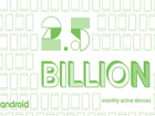 Android plus grand que Windows et iOS avec 2,5 milliards de terminaux actifs
