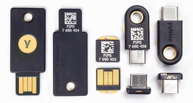 Les clés de sécurité Yubico désormais compatibles avec les comptes Windows