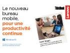 Le nouveau bureau mobile, pour une productivité continue