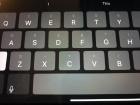 Comment améliorer considérablement votre vitesse de frappe sur un iPad (ou rendre votre frappe plus précise)