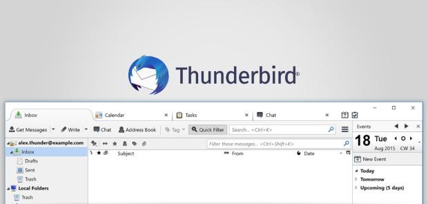 Thunderbird : prise en charge de la norme de chiffrement de courrier électronique OpenPGP
