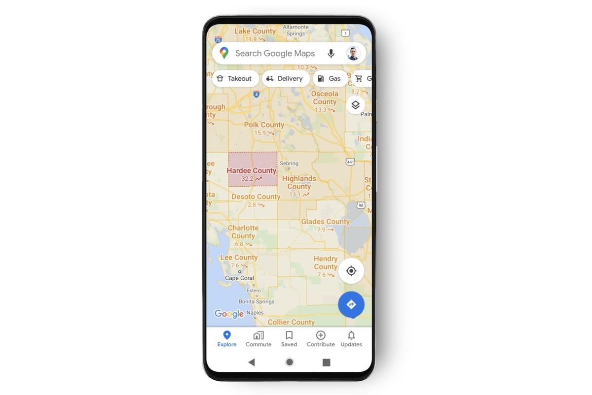 Covid-19: Google Maps vous révèlera désormais les zones touchées par le virus
