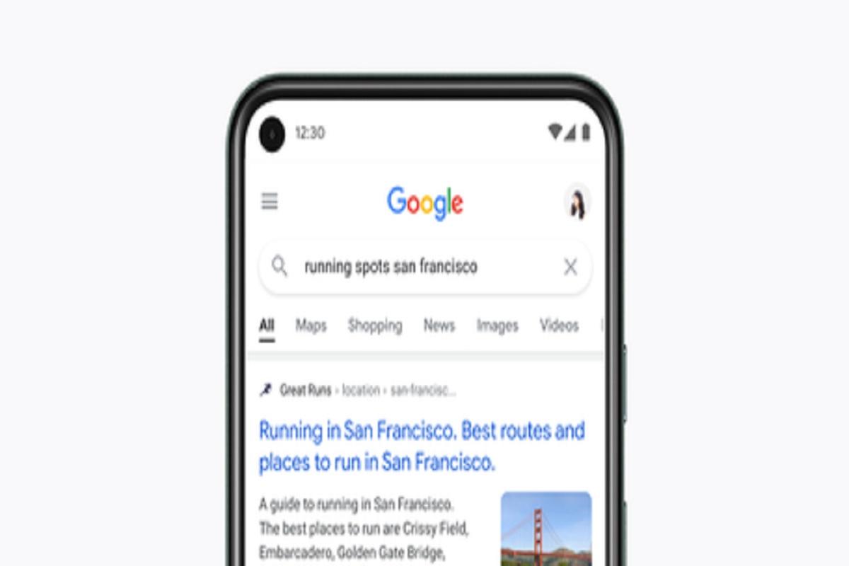 Google Search s'offre un ravalement de façade sur mobile