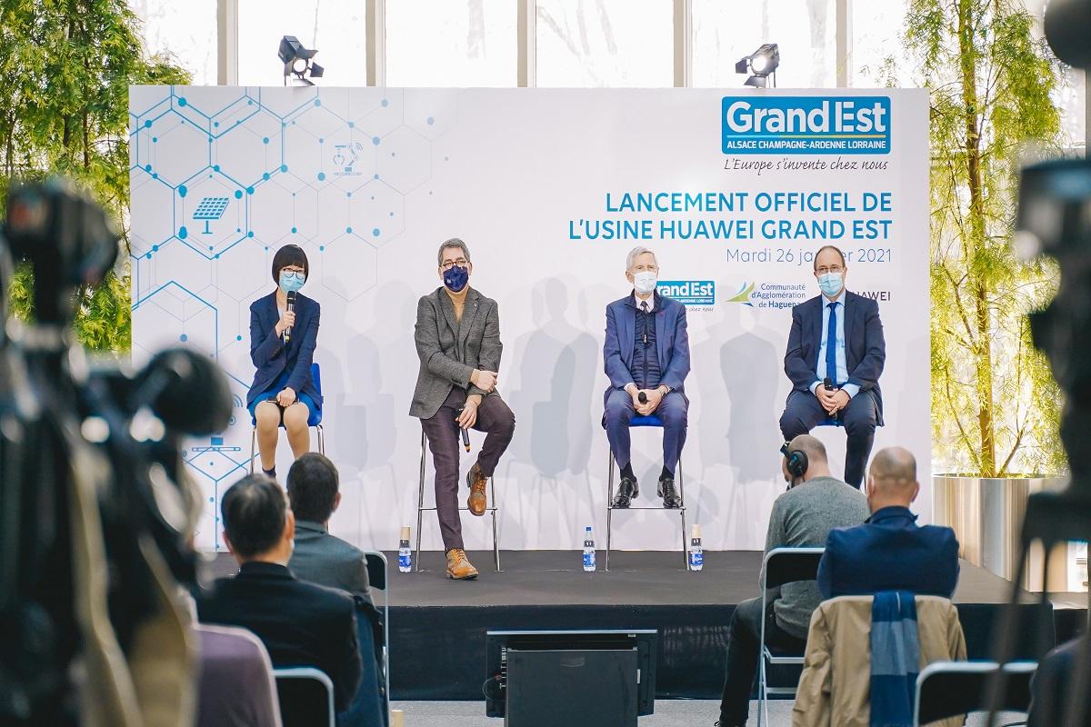 Huawei en dit plus sur sa future usine alsacienne
