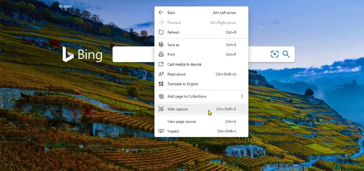 Microsoft Edge se dote d'un utilitaire de capture d'écran