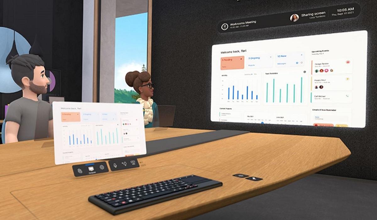 """Vidéo : Facebook introduit le """"metaverse"""" au travail avec Horizon Workrooms"""