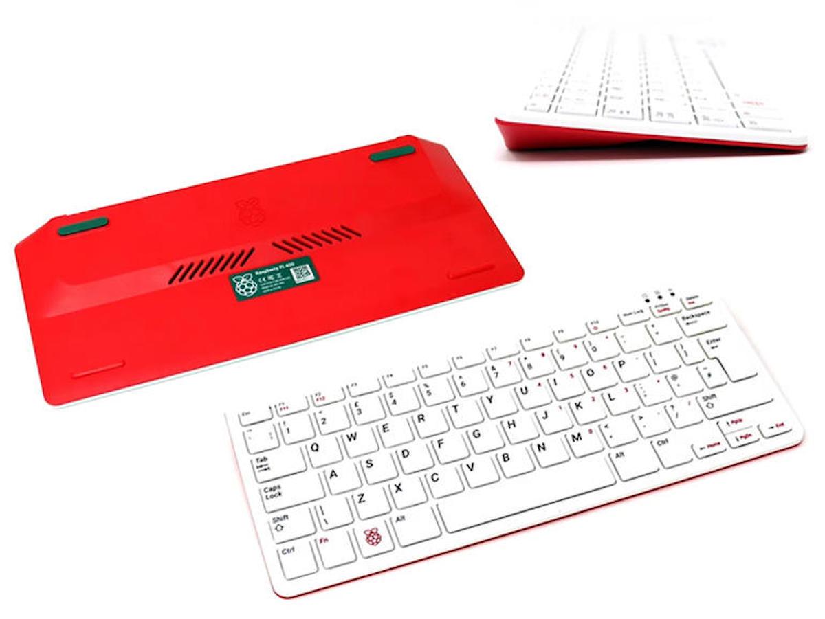 Raspberry Pi 400 : quand le clavier devient l'ordinateur