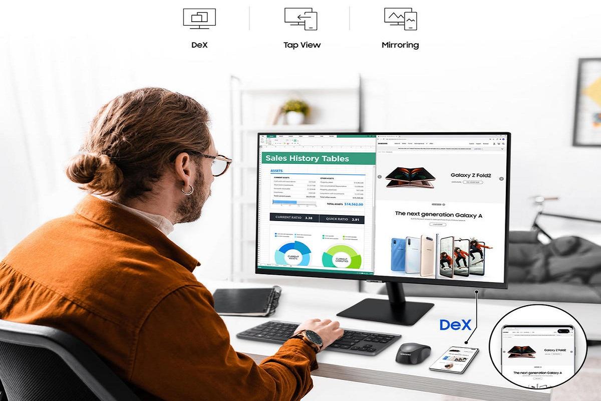 Samsung lance un moniteur dédié pour son DeX