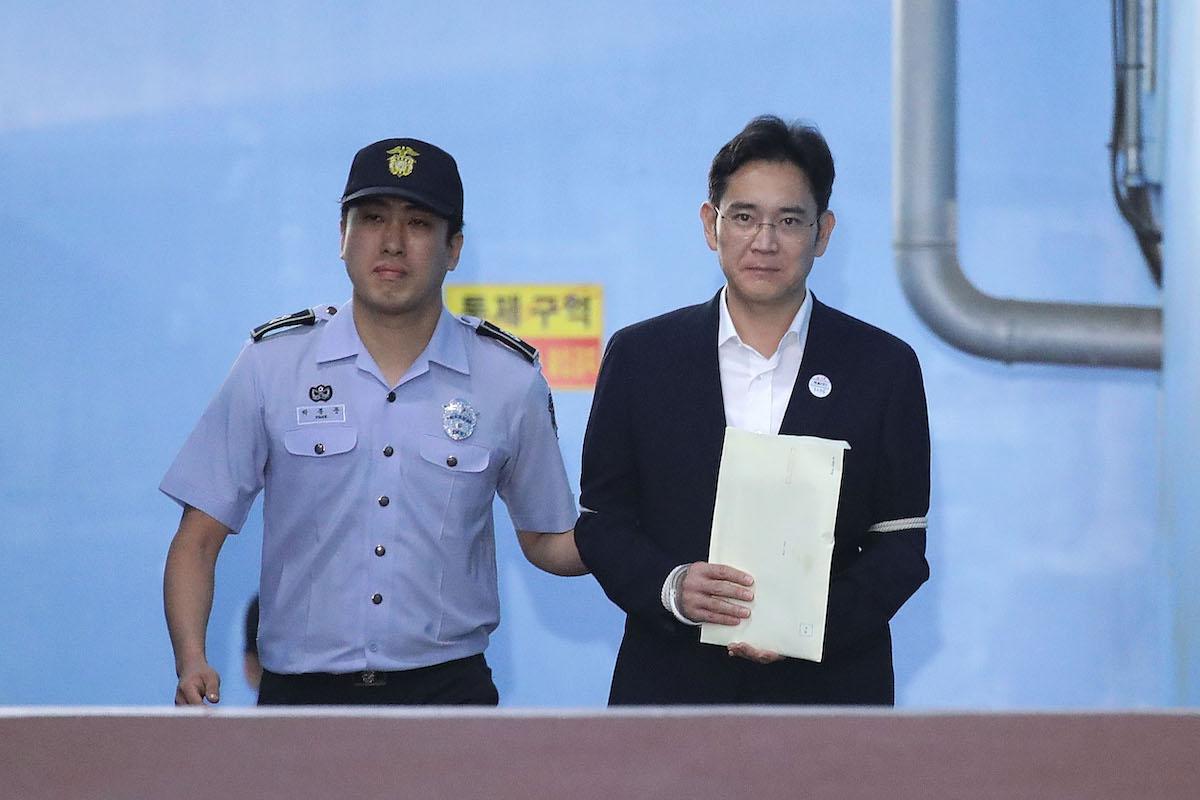Le vice-président de Samsung de nouveau dans le collimateur de la justice