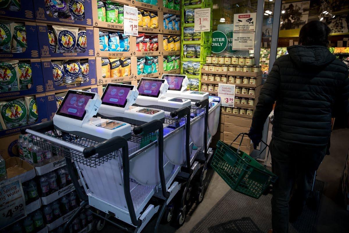 Auchan, Tesco et Instacart dans les pas d'Amazon Go