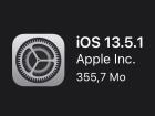 Apple déploie la version iOS13.5.1 pour contrer le nouveau jailbreak