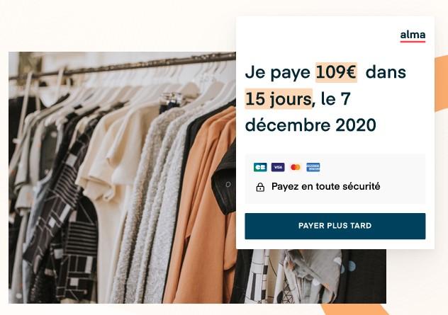 Paiement fractionné: Alma lève 49millions d'euros (en une fois!)