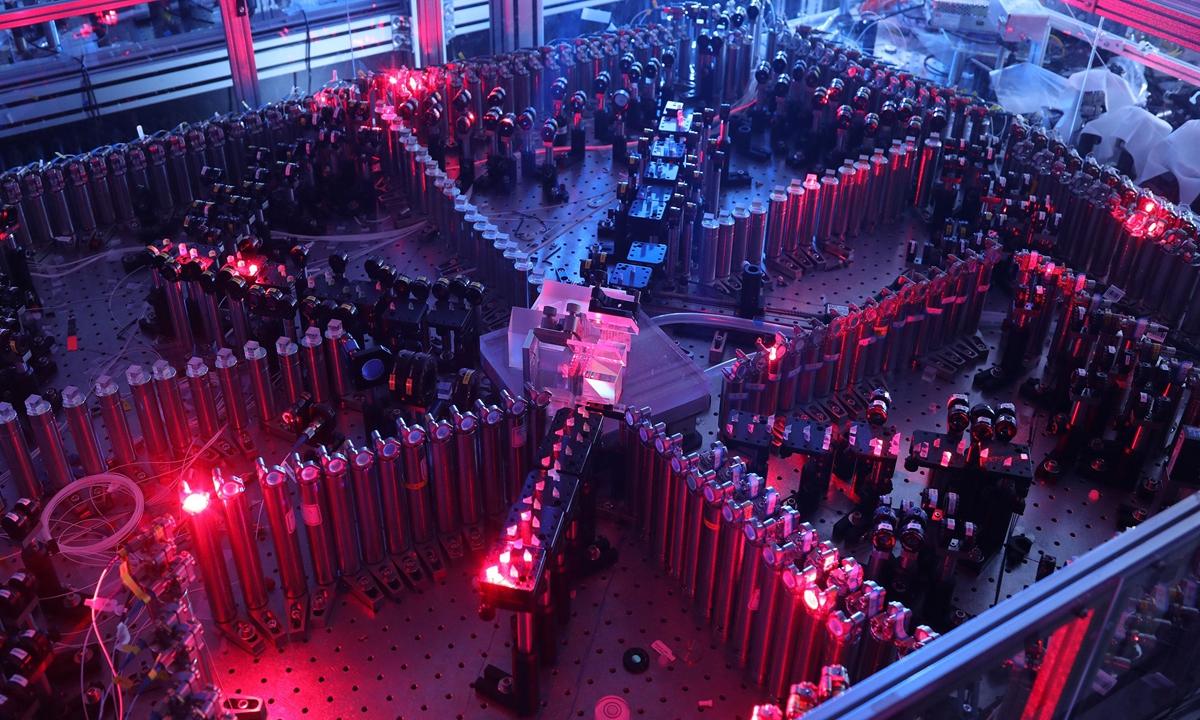 Suprématie quantique chinoise avec un ordinateur quantique à émission de lumière