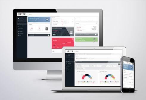 Interface Keyyo de Cloud Management centralisée