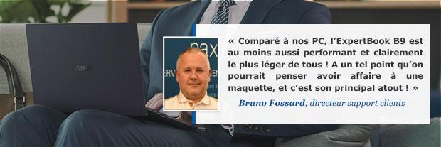 Avis de Bruno sur l'ultraportable Asus ExpertBook B9