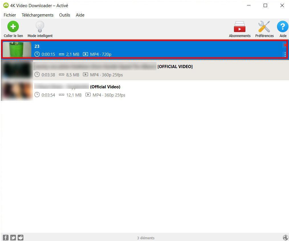 Téléchargement vidéo simple et rapide avec 4K Video Downloader