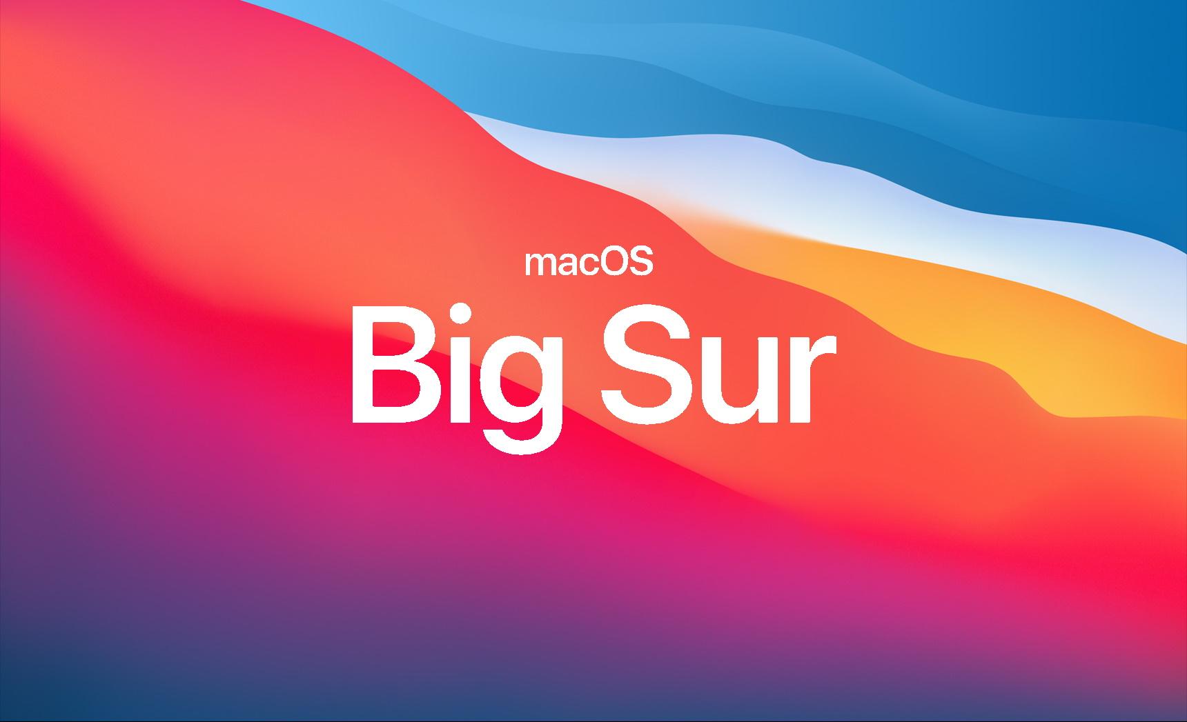MacOS Big Sur: Apple corrige un bug pouvant provoquer des pertes de données