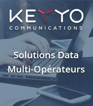Les solutions Data Multi-Opérateurs de Keyyo