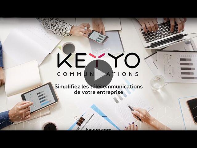 Avec Keyyo, simplifiez les télécommunications de votre entreprise !