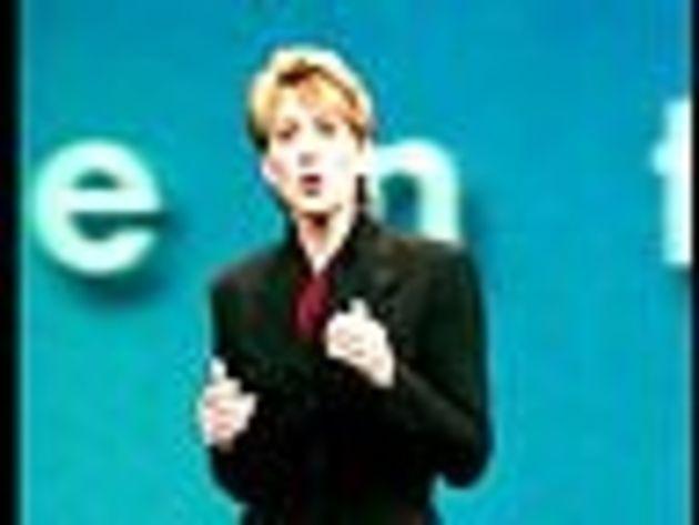 Carly Fiorina, P-DG de Hewlett-Packard, s'attaque au