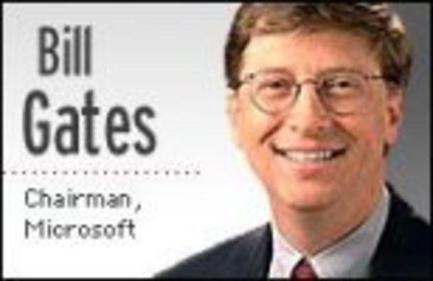Bill Gates, Microsoft: «Le marché des moyennes entreprises représente un potentiel de croissance immense»