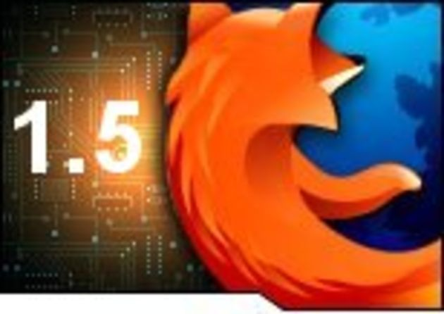 Firefox 1.5 soigne son entrée