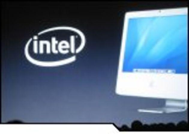 Les nouveaux Mac dopés par la puissance des puces Intel