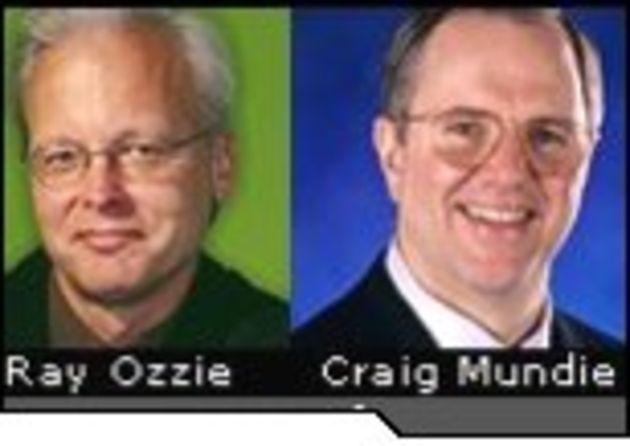 Ray Ozzie et Craig Mundie, Microsoft: «Nous poursuivons le changement de cap vers les services»