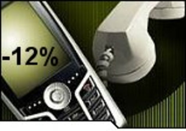 Les prix des appels vers les mobiles baisseront de 12% en 2007