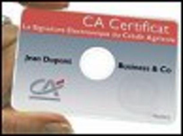 Banque en ligne: le Crédit Agricole teste l'authentification par carte CD-Rom