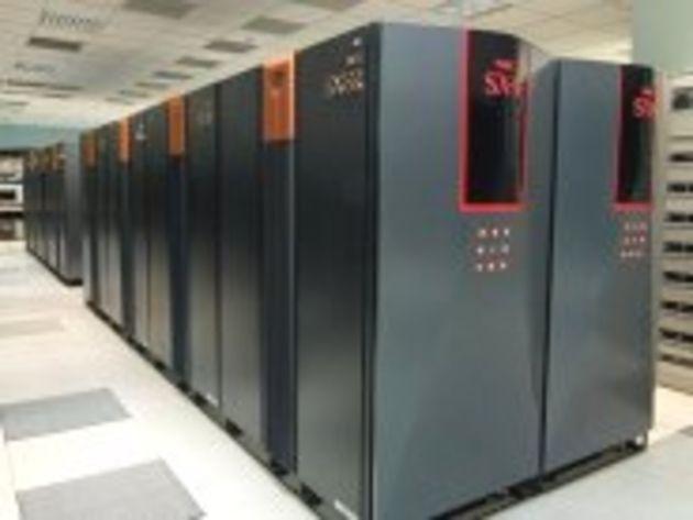 Météo France se dote d'un supercalculateur d'une puissance de 9,1 téraflops