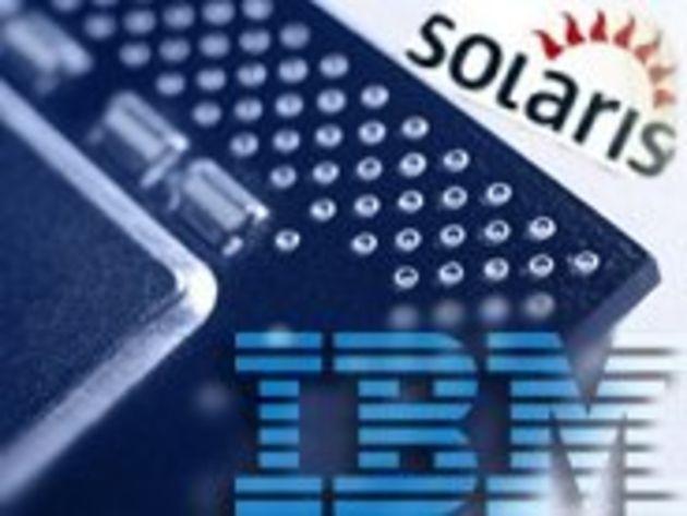 Solaris de Sun disponible sur des serveurs IBM
