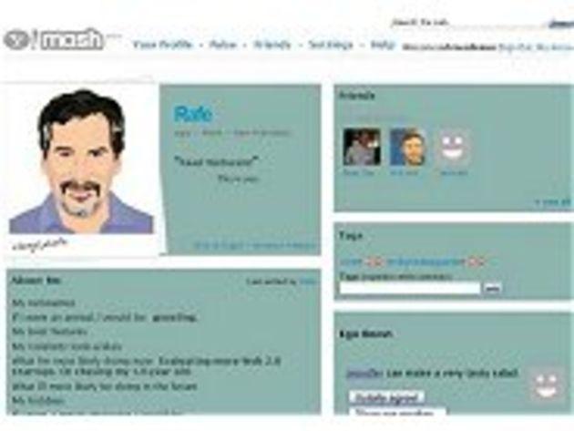 Yahoo fait un nouvel essai dans les réseaux sociaux avec Mash