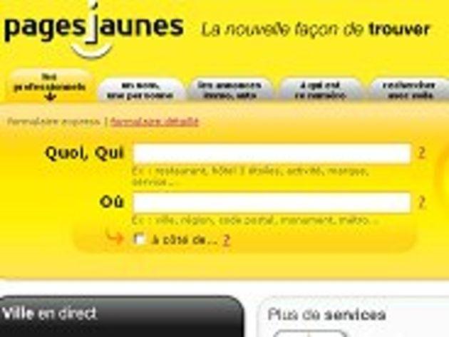 PagesJaunes.fr fait peau neuve pour mieux affronter la concurrence