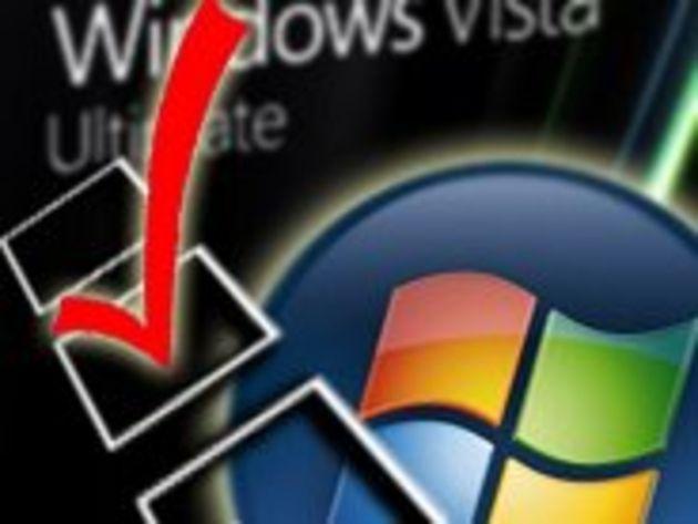 Écran noir pour les copies pirates de Windows Vista