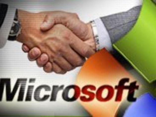Microsoft prévoit le rachat de cent entreprises sur 5 ans