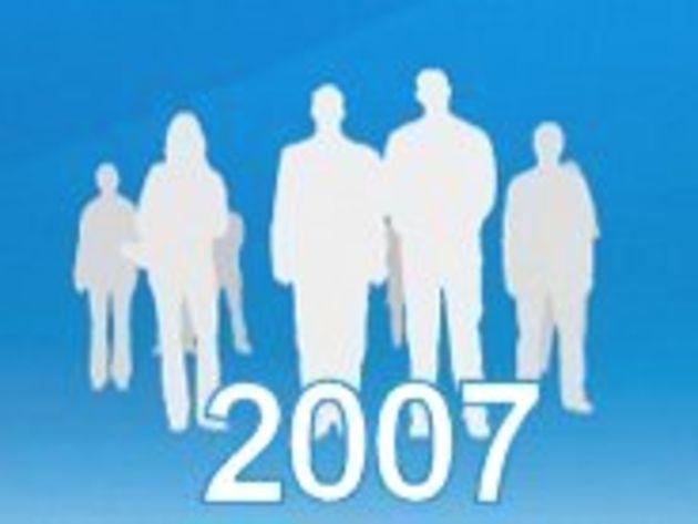 Nouvelles technos : les Français ont continué de s'équiper en 2007