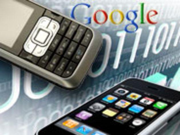 L'iPhone fait bondir le trafic des sites mobiles de Google