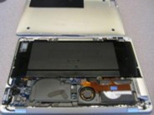 Dans les entrailles du MacBook Air d'Apple