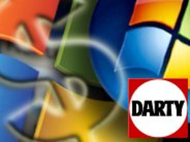 Vente liée : Darty condamné à afficher le prix de Windows